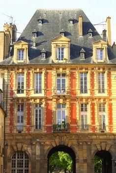 Entry to Place des Vosges, Paris