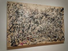 """The Fascinating Physics of Jackson Pollock's """"Drip"""" Paintings Music Painting, Action Painting, Drip Painting, Jackson Pollock Art, Pollock Paintings, Museum Of Modern Art, Abstract Expressionism, Lovers Art, Art History"""
