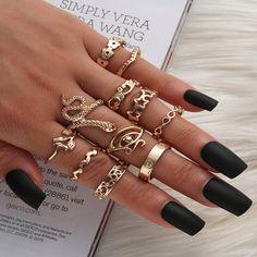 Hand Jewelry, Beach Jewelry, Cute Jewelry, Boho Jewelry, Jewlery, Fashion Jewelry, Cute Rings, Unique Rings, Dainty Gold Rings