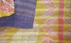 Best Quality Vintage Kantha Quilt Handmade Kantha Picnic Throw