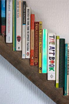 Une bibliothèque escalier pour vos livres préférés.