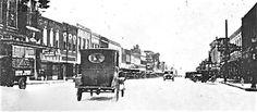 Main St Denison Texas 1920