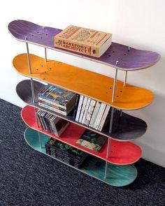 Regal Board Skate recycelt. von SkateMood auf Etsy