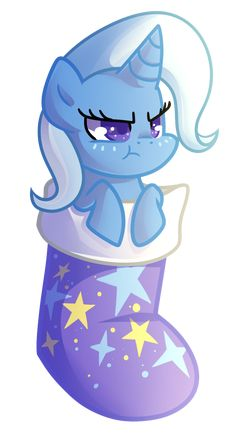 Trixie Stocking by Left2Fail on DeviantArt