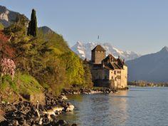 Chillon Castle, Montreux Switzerland