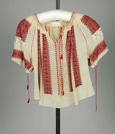 Romanian blouse circa 1920