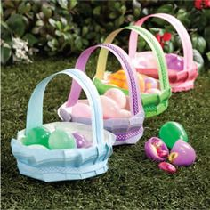 Paper Plate Easter Basket - Free-N-Fun Easter from Oriental Trading