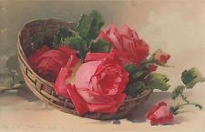 72310-artistes Carte Caterina KLEIN Meissner & Livre Série 1934 roses magique