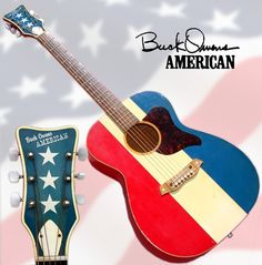 Here's the iconic 'American,' featuring country great Buck Owens' patented design from the early Pedal Steel Guitar, Buck Owens, Custom Cowboy Boots, Vintage Western Wear, Grand Ole Opry, Honky Tonk, Cool Guitar, Music Stuff, Country Music