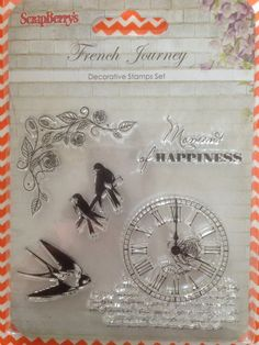 French Journey stamp.