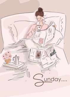 Rose hill designs by heather stillufsen hello weekend, happy weekend, hello sunday morning, Hello Weekend, Happy Weekend, Happy Sunday, Hello Sunday Morning, Sunday Morning Coffee, Coffee Time, Illustration Mode, Illustrations, Rose Hill Designs