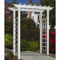 Eden Arbors Westhaven 50 in. x 81.75 in. Arbor-VA68233 at The Home Depot