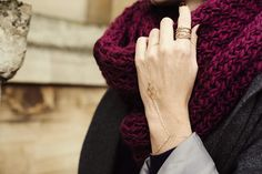 How will you be keeping snug and stylish this #AW14? #knittedscarf