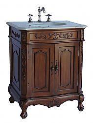 "26.5"" Diana (DA-726) : Bathroom Vanity #BathroomRemodel #BlondyBathHome #BathroomVanity  #TraditionalVanity"