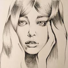 Pencil portrait | Illustration