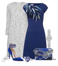 ESCADA Dress by dgia on Polyvore featuring ESCADA, Jessica Simpson, Michael Kors, Cathy Waterman and Harris Wharf London