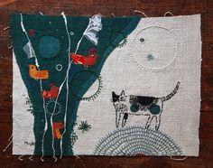 Elle est japonaise ... elle travaille le textile et se nomme Mika Hirasa..... (Je n'ai pas trouve de site dédié...)   ...