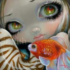 Faces of Faery #220 by Jasmine Becket-Griffith