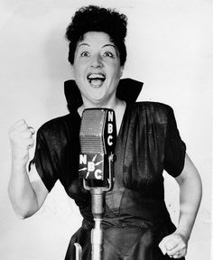 A look back at old-time radio programs and some of the more popular programs and personalities, written by and rare photos supplied by pop-culture expert Sam. 1940s, Ethel Merman, Tallulah Bankhead, Broadway Stage, Old Time Radio, Radio Flyer, Drama Queens, Children Images, Moulin Rouge