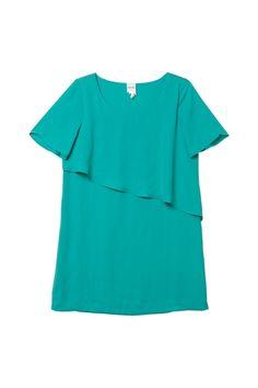 Emmie dress - from Monki.  Coler: creme de menthe