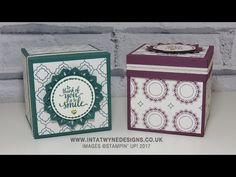 "3-1/2 x 3-1/2"" Gift Box Using The New Eastern Palace Suite - YouTube"