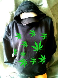 POT LEAF HOODIE (not available for sale)