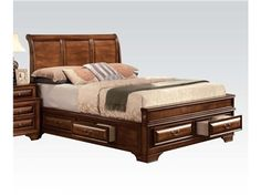 Shop for Homelegance Eastern King Platform Bed 2159K 1EK