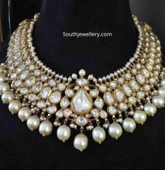 Ruby Jewelry, Statement Jewelry, Bridal Jewelry, Jewelry Box, Jewellery, Kundan Set, Uncut Diamond, Stylish Jewelry, Diamond Pendant Necklace