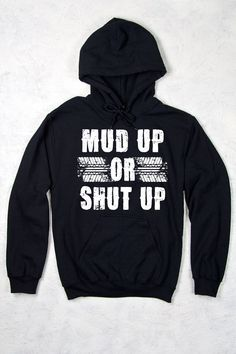 Black - Women's Mud UP Country Girl® Relaxed Pullover Hoodie