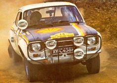 Escort in safari rally Road Race Car, Race Cars, Road Racing, Escort Mk1, Ford Escort, Pajero Off Road, Ford Motorsport, Cool Car Pictures, Trophy Truck