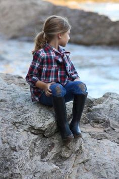 wellies by the sea