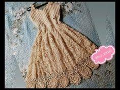 Crochet Baby Sweaters, Knit Crochet, Crochet Summer Dresses, Crochet Videos, Crochet Projects, Dress Skirt, Knitting, Bikini, Pattern