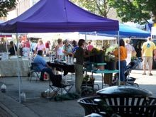 Saturday is Market Day at Janesville Farmer's Market in Wisconsin 8am - 1pm on 100 & 200 blocks of Main Street http://www.farmersmarketonline.com/fm/JanesvilleFarmersMarket.html