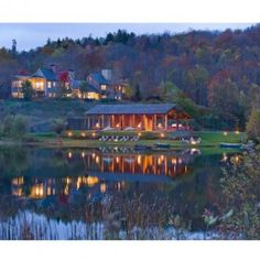 Twin Farms, Vermont, United States. This New England resort is the definition of charming.