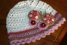 cappellino uncinetto cotone | Flickr - Photo Sharing!