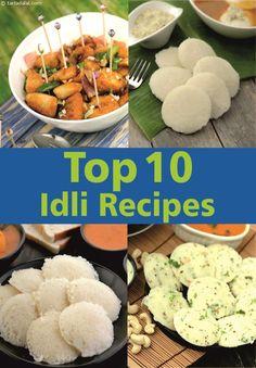 Top 10 Idli Recipes | TarlaDalal.com | #179