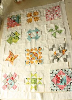 Hand Pieced Quilt-A-Long ~ Sashing and Border