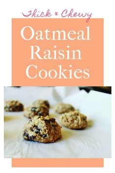 I found it. This it is. THE ONE. It's a dump everything into one bowl and have homemade oatmeal cookies ten minutes later kind of recipe. And yet, they are SO incredibly moist, chewy, crispy on the edges, and AMAZING. Truly, these cookies are our very favorite oatmeal raisin (or chocolate chip) EVER. Easy No Bake Desserts, Delicious Desserts, Yummy Food, Sweet Desserts, Homemade Oatmeal Cookies, Oatmeal Raisin Cookies, Cookie Recipes, Dessert Recipes, Trifle Pudding