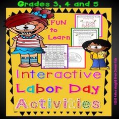 Labor Day Interactive Puzzles and Fun Crossword Activity. Enjoy this Interactive Packet for Labor Day . This includes 25 pages of the engaging Labor Day classroom activities. Labor Day is a time to celebrate people who work. With these fun pages your students will learn what Labor Day is all about.