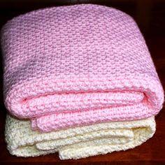 Crochet For Children: Fast Easy Crochet Baby Blanket (Free Pattern)                                                                                                                                                     More