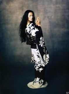 Gong Li as Hatsumomo for Vogue