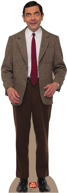 Mr. Bean Cardboard standup  I'm not sure what I would do with it, but I can't help but think that this would be $40 well spent.