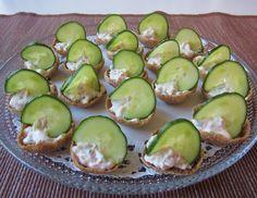 Herkkuja leipomassa: Ruissipsit kinkkutäytteellä/ Rye chips with ham fi...