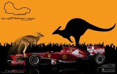f1 Ferrari Australian gp