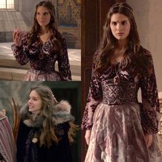 """354 Likes, 7 Comments - A Reign Fan Account❤AgentGreer (@everythingreign) on Instagram: """"Every dress Kenna ever worn ™ Season 2, episode 13 """"Sins of the Past"""" She wore this on season 1…"""""""