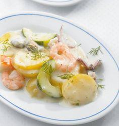 Kartoffelragout mit Meeresfrüchten Rezept - [ESSEN UND TRINKEN]