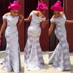 Hello ladies, Here are pins from some of the most exclusive design of African lace styles that are sure to keep your game on lock. Nigerian Lace Dress, Nigerian Dress Styles, Nigerian Outfits, Ankara Gown Styles, Ankara Gowns, Nigerian Wedding Dress, Kente Styles, Nigerian Weddings, Aso Ebi Styles