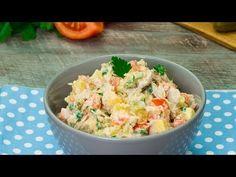 Salát orientální chuti - potěší úplně každého!| Chutný TV - YouTube Saveur, Potato Salad, Kale, Ethnic Recipes, Food, Youtube, Pleasing Everyone, Kale Stir Fry, Mayonnaise