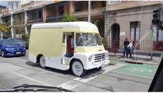 Vintage Ice Cream, Food Truck, October, Van, Trucks, Instagram, Food Carts, Truck, Vans