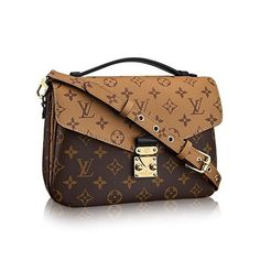 eb39455683cd Louis Vuitton Brand New Reverse Pochette Metis Brown Cross Body Bag | Cross  Body Bags on. Tradesy